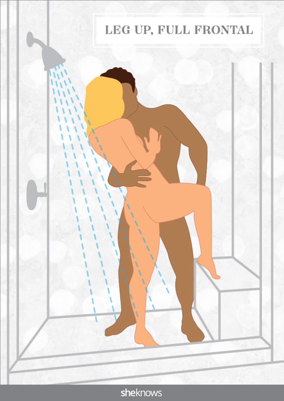 badkamer sex standjes