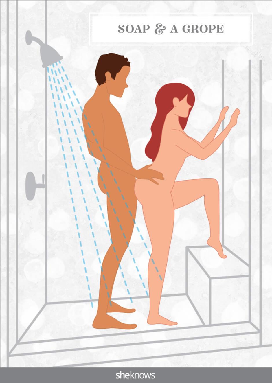 standjes badkamer sex