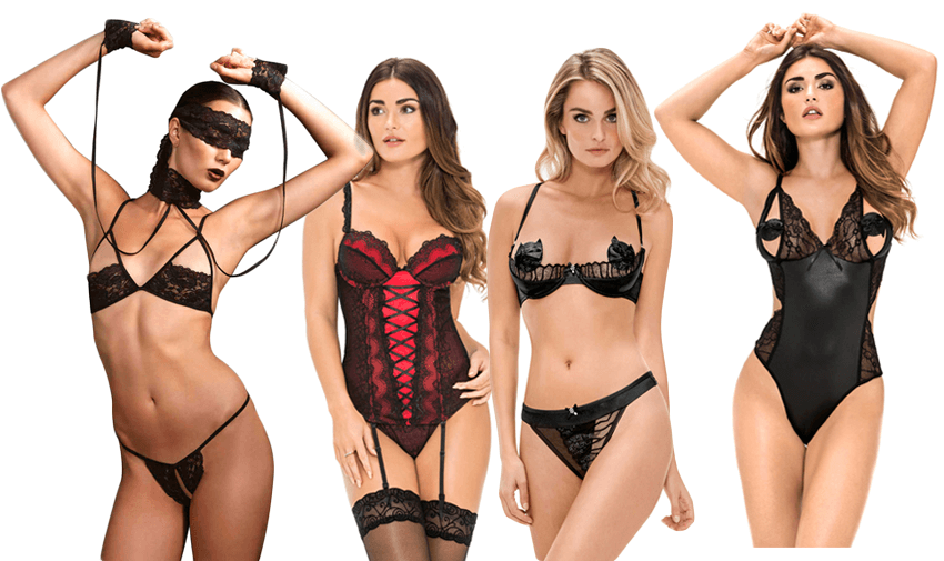 fifty shades lingerie