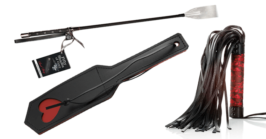 fifty shades zweepjes paddles